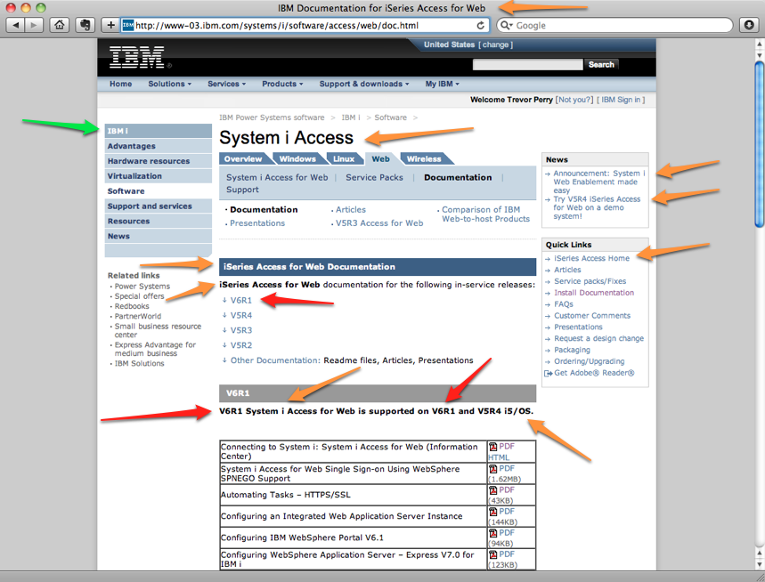 IBM something? Access