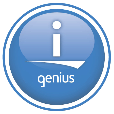 2009 iGenius button