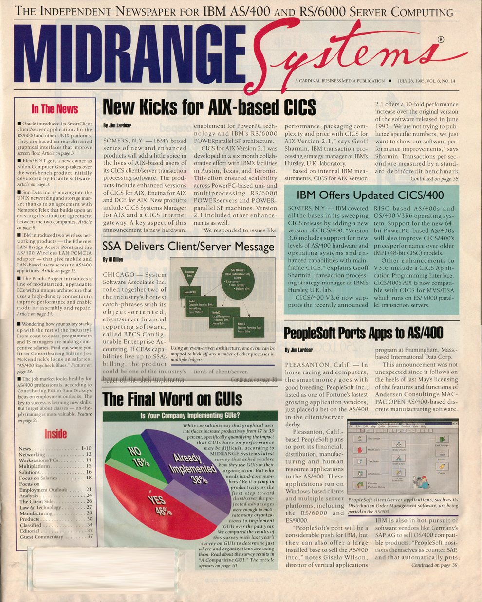Midrange Computing July 28, 1995